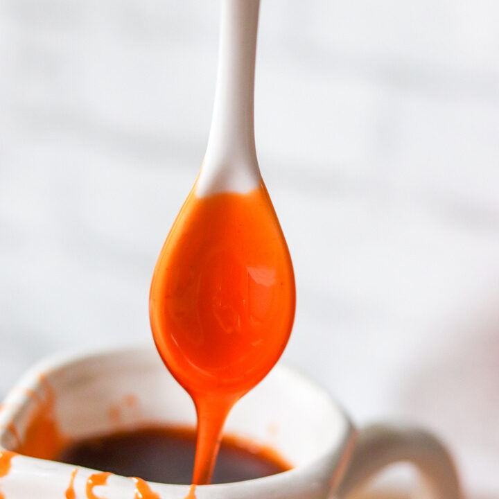 Candy Corn Simple Syrup