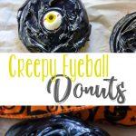 Creepy Eyeball Donuts