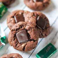 Andes Mint Chocolate Cookies