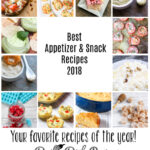 Best Appetizers and Snacks Recipes for 2018