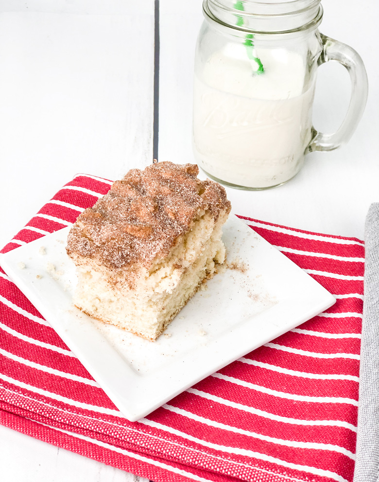 Easy Snickerdoodle Pancake Cake