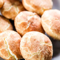 Snickerdoodle Crinkle Cookies