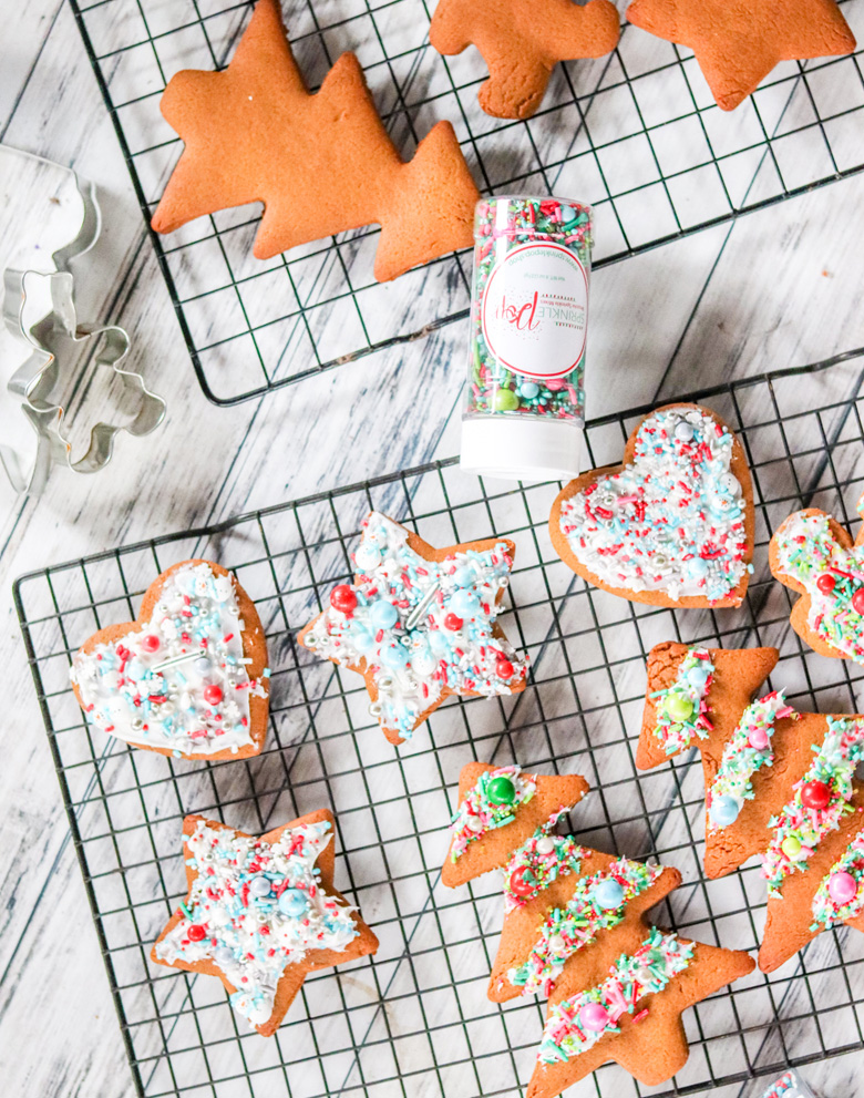 Soft Gingerbread Cut Out Cookies