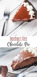 Hershey's Kiss Chocolate Pie