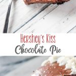 Hershey's Kiss Chocolate Pie