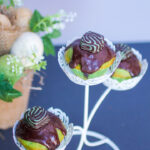Mint Cupcakes with Mint Dark Chocolate Ganache