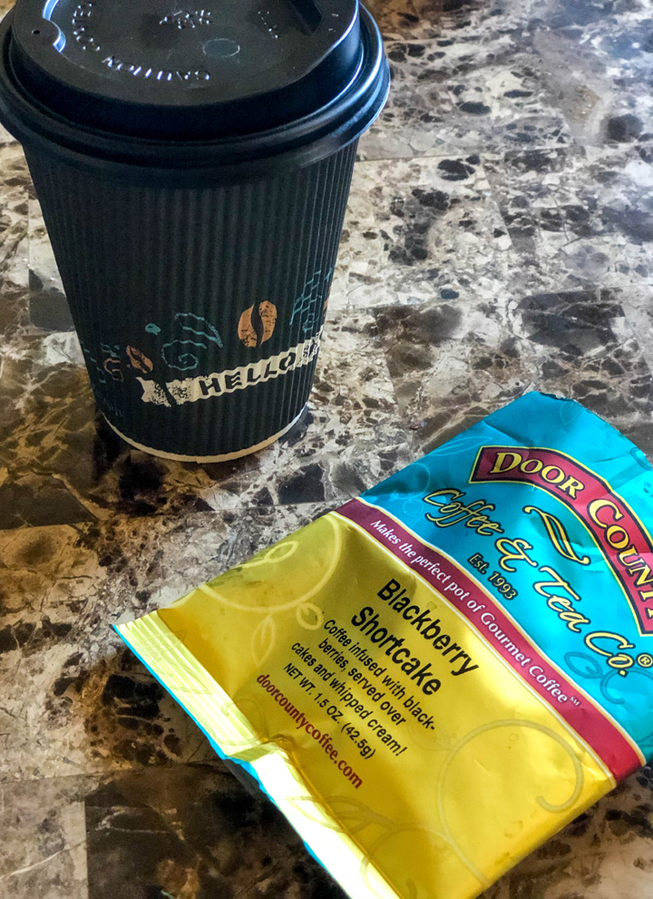 Door County Coffee Blackberry Shortcake