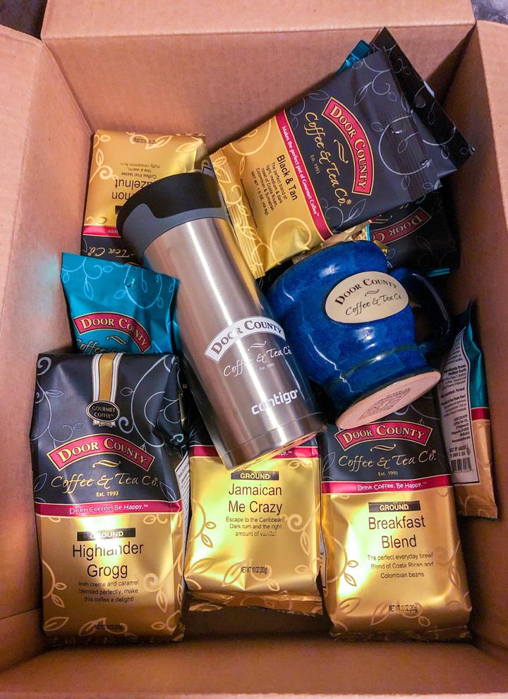 Door County Coffee Shipment
