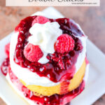 Raspberry Shortcake Double Stacks