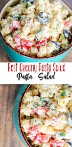 Best Creamy Pasta Salad for a BBQ