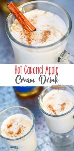 Hot Caramel Apple Cream Drink