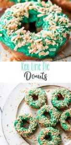 Key Lime Pie Donuts