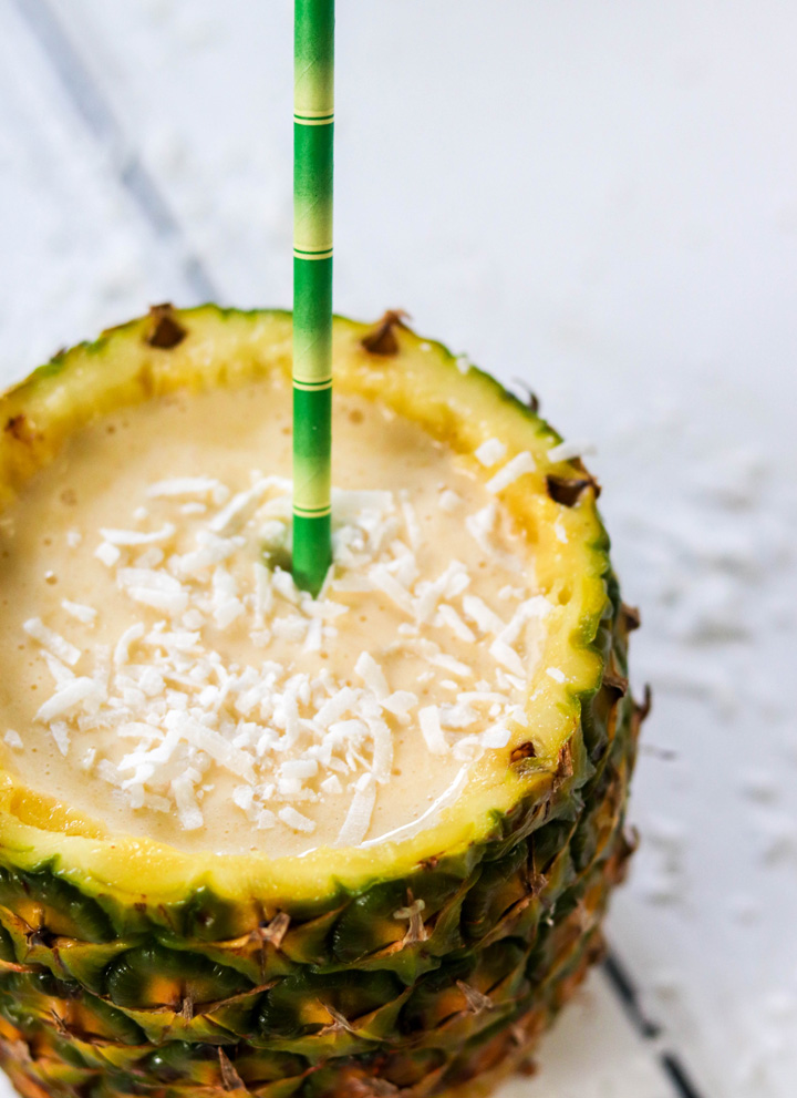 Pineapple Coconut Milkshakes