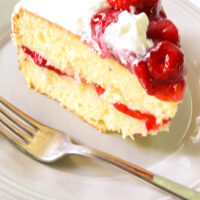 Nana's Strawberry Shortcake Cake