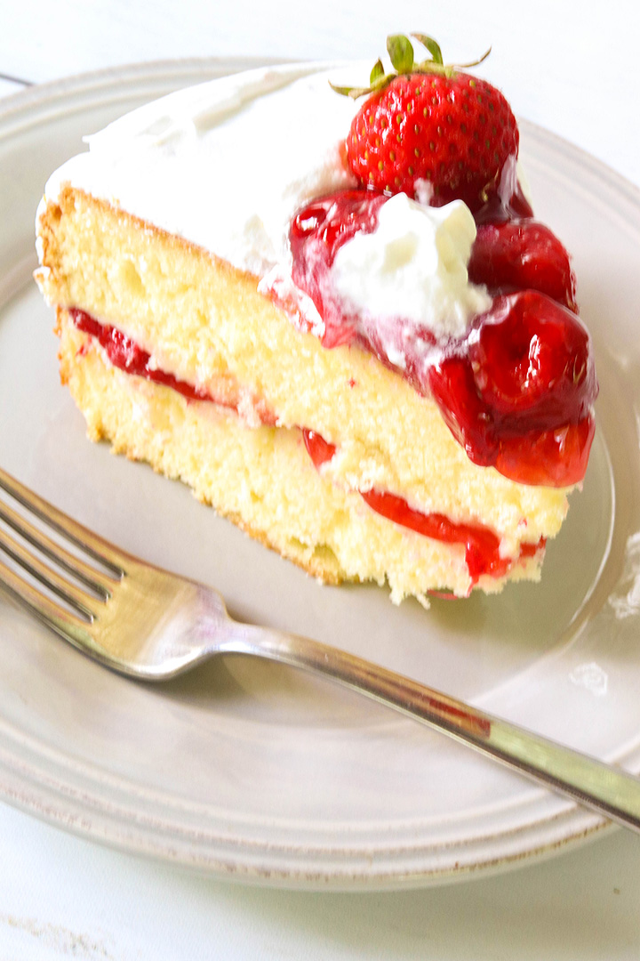 Nana S Strawberry Shortcake Cake