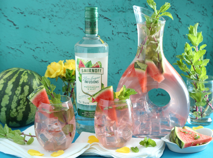 Watermelon Mint Summer Splash