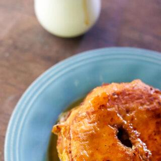 Cinnamon Glazed Donut French Toast