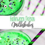 Halloween Poison Milkshakes