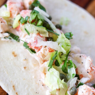 Lobster Roll Street Tacos