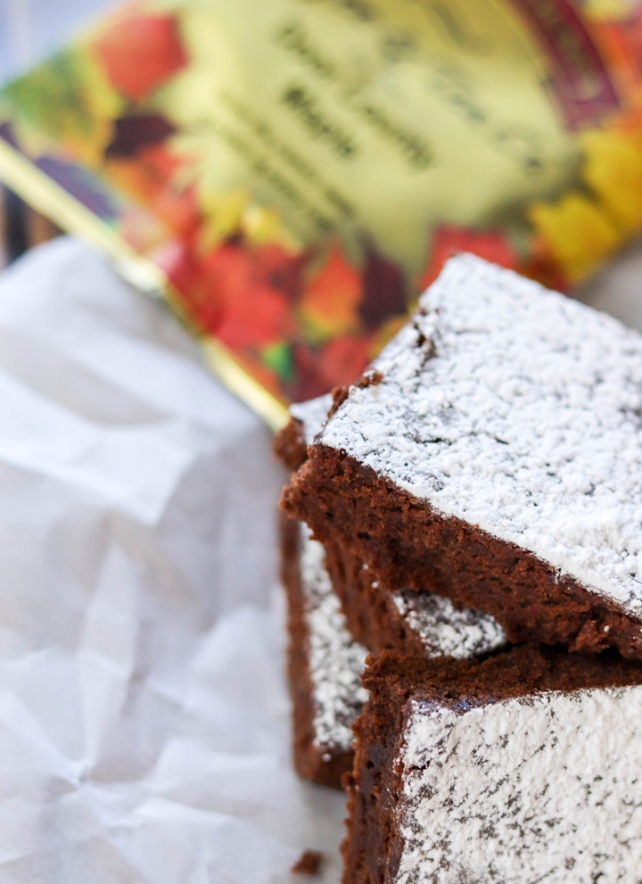 Maple Coffee Brownies