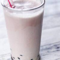 Plum Spice Bubble Milk Tea