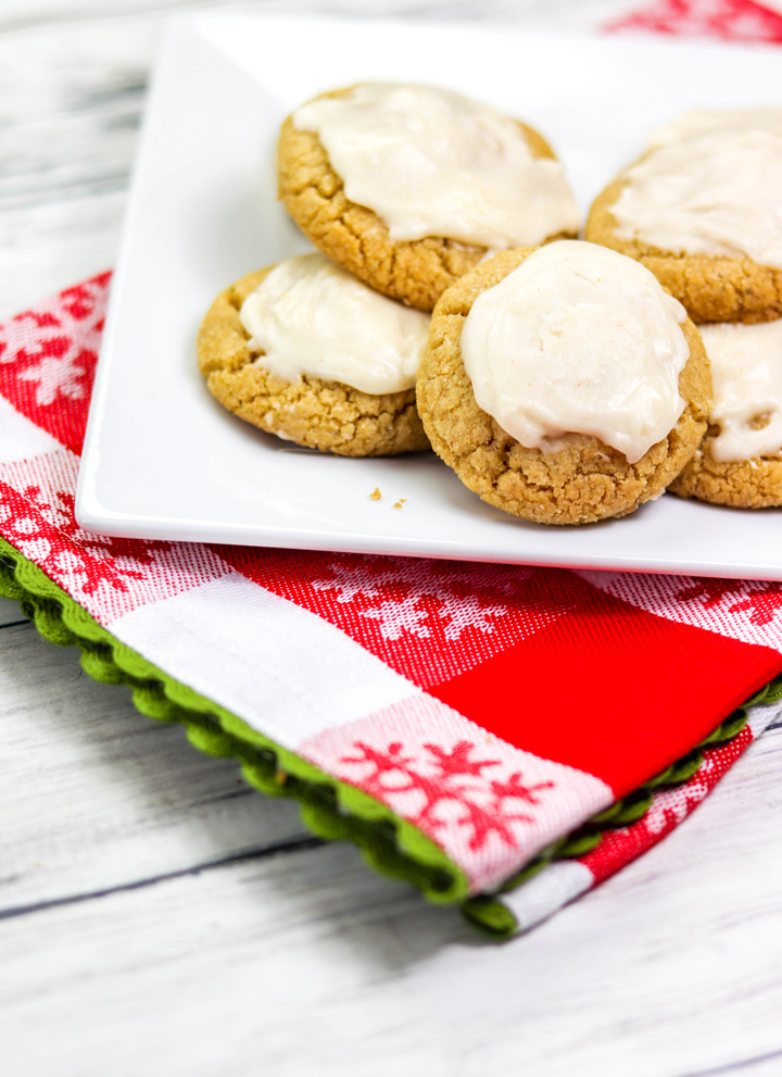 Brown Butter Cookies with Brown Butter Frosting