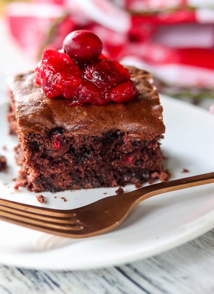 Cranberry Chocolate Chip Cake