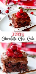 Cranberry Chocolate Chip Cake
