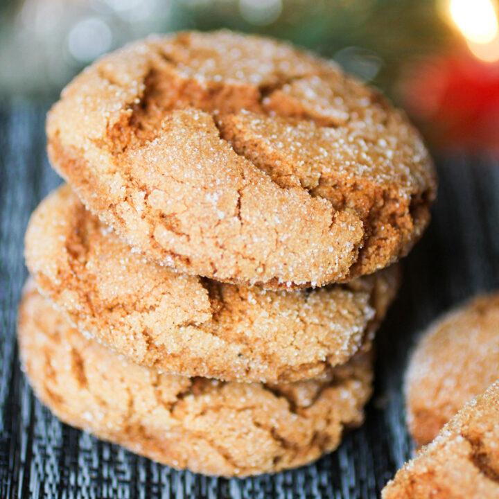 Gingerbread Sugar Cookies
