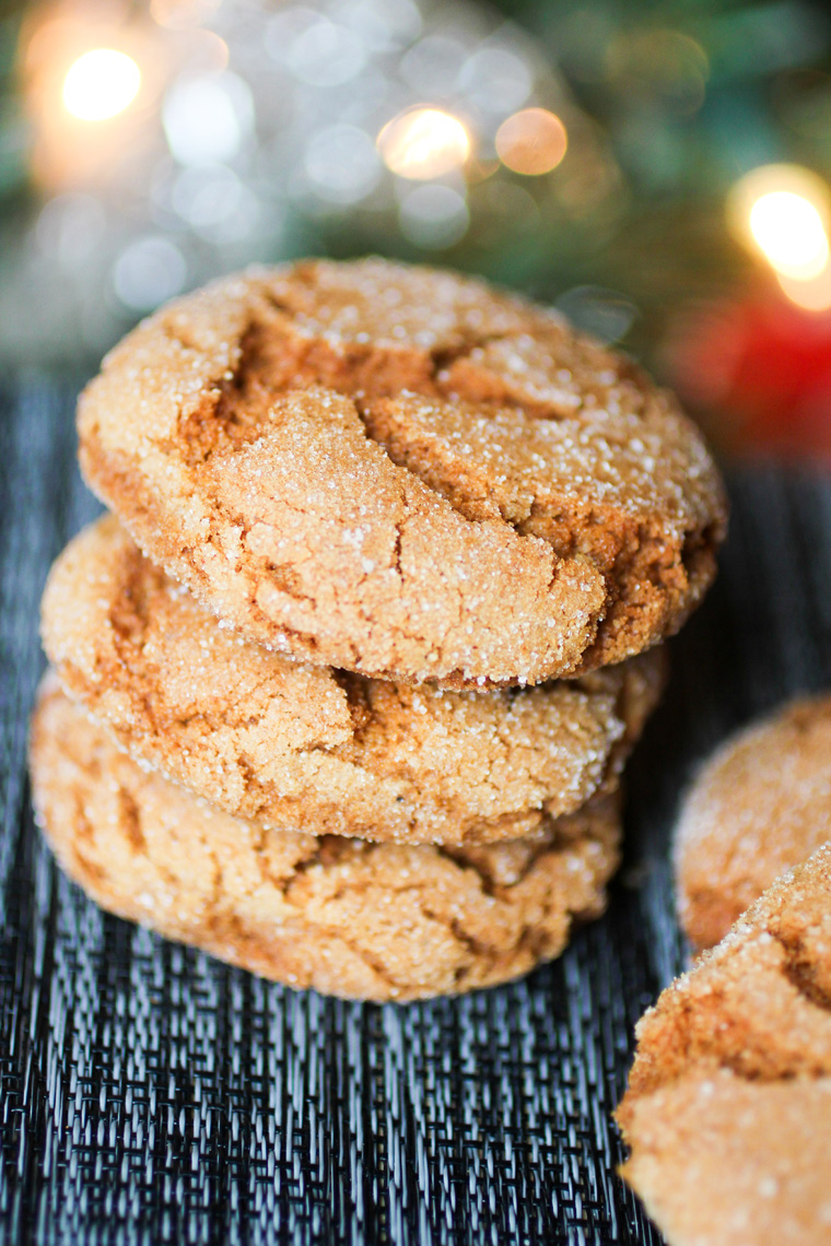 Gingerbread Sugar Cookies