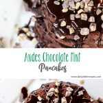 Andes Chocolate Mint Pancakes