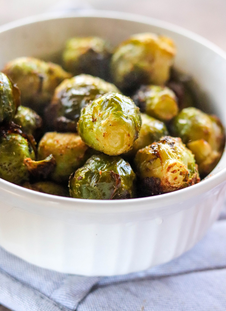 Frozen Brussels Sprouts in the Air Fryer