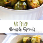 Air Fryer Brussels Sprouts PINTEREST