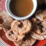 Air Fryer Cinnamon Apple Rings