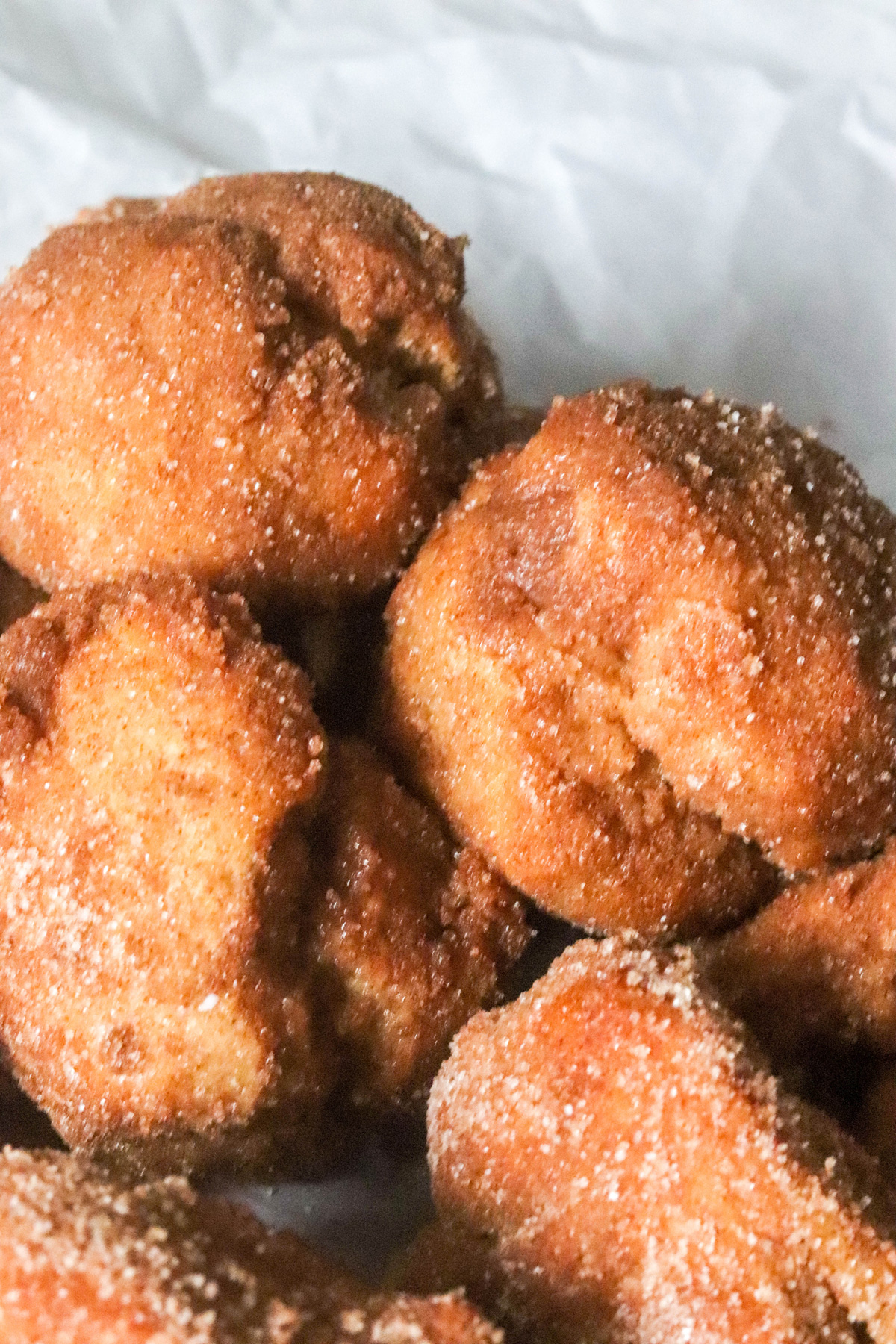 Air Fryer Cinnamon Spice Donut Drops