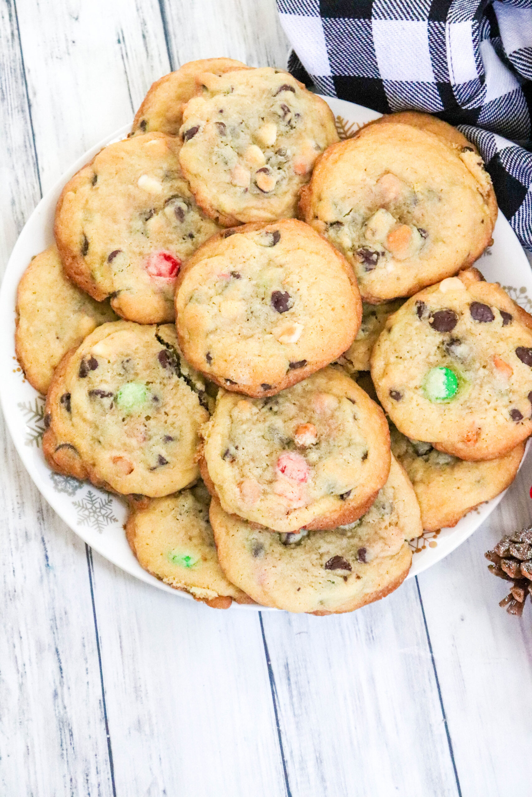 Christmas Chippity Chip Cookies