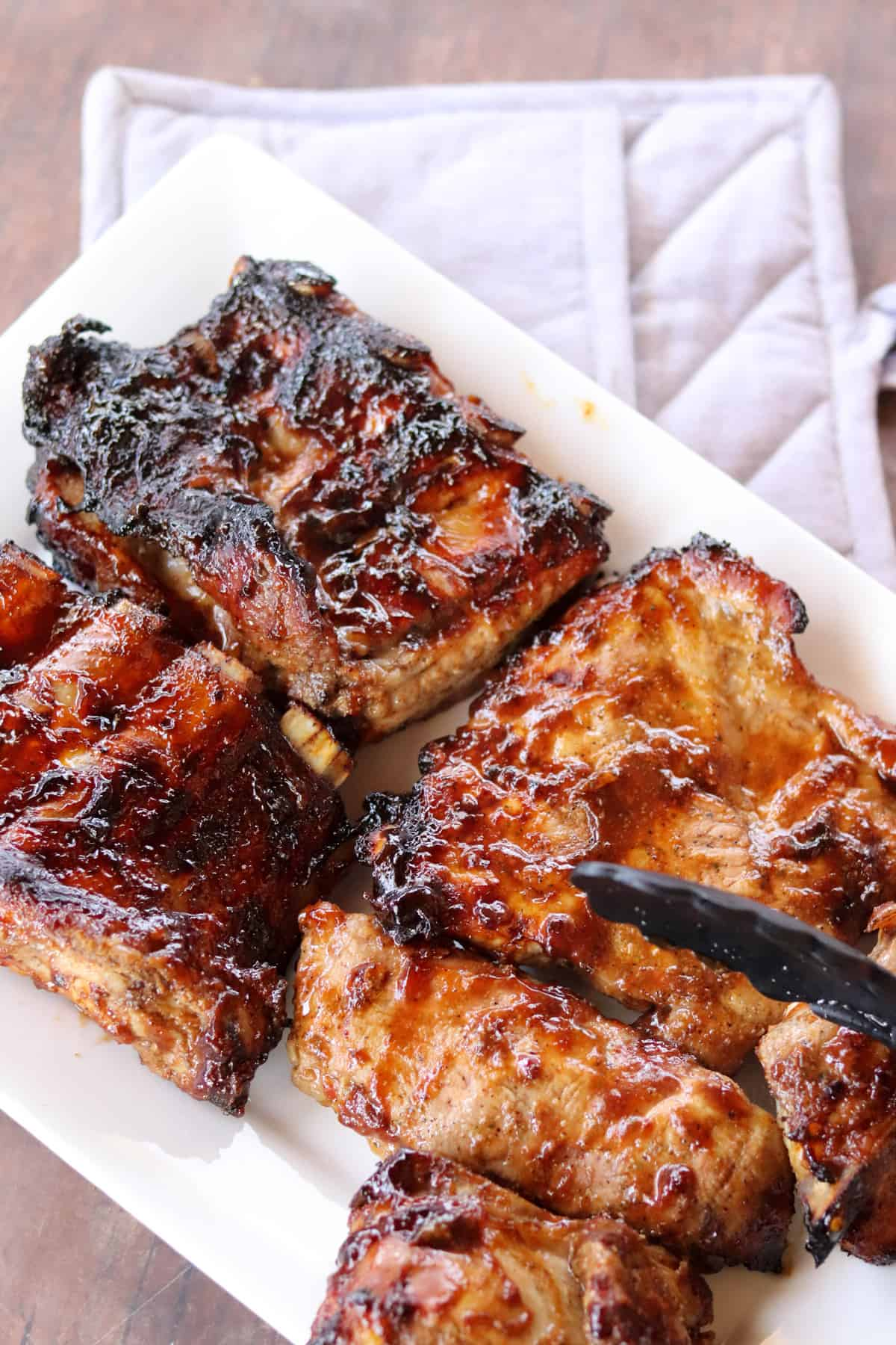 A photo of Best Grilled BBQ Pork Ribs